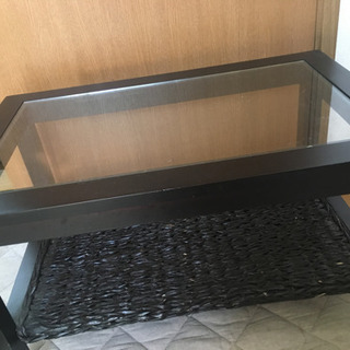 アジアン家具 ブラックテーブル