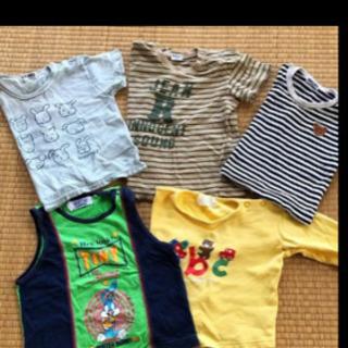 [ 70〜95・5点 ]ベビー衣料 半袖・ランニング