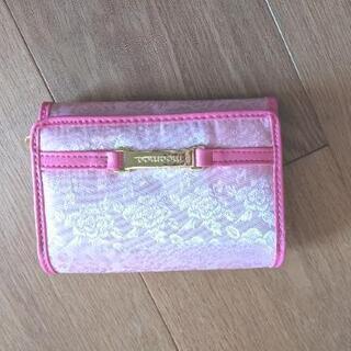 【ネット決済】【未使用品】moamoa 大人可愛い二つ折り財布 ...