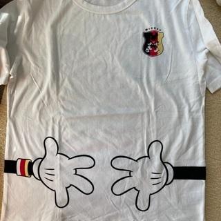 美品!ミッキーサッカーTシャツ!