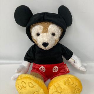 【ミッキーの着せ替え付き💕💕】ダッフィー ぬいぐるみ  人形