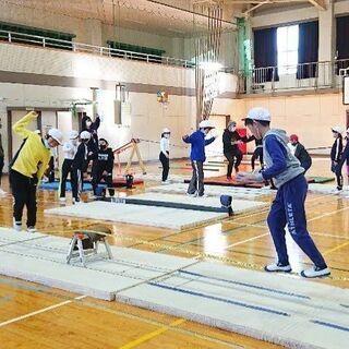 歩く体幹トレーニング!スラックラインスクール!