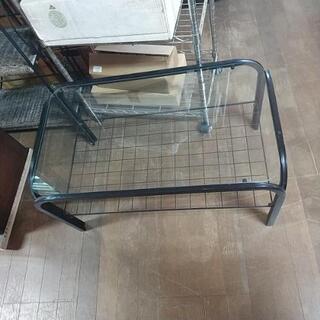 29【中古品】ガラステーブル