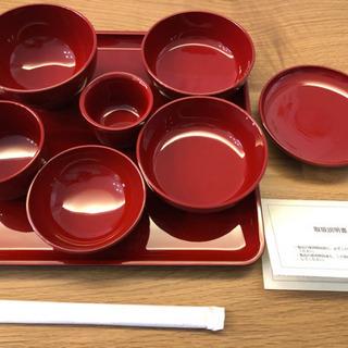 【新品】お食い初め 食器セット 漆器