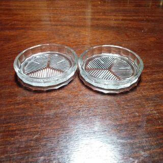 ガラス製小皿(中古)