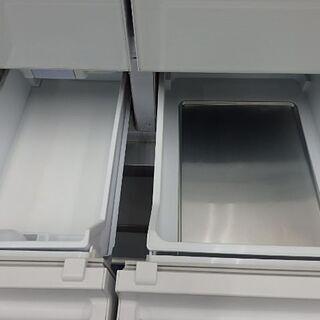 【配送設置無料エリア拡大】☆美品☆ 三菱 ノンフロン冷凍冷蔵庫 470L 2016年製 MR-WX48Z-W1 - 家電