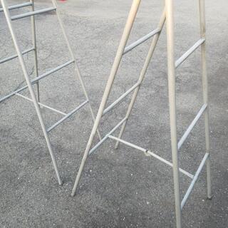 塗装用足場の脚立 2つセット