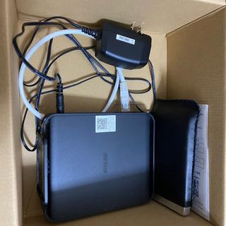 美品 WSR-1166DHPL/N バッファロー Wi-Fiの画像