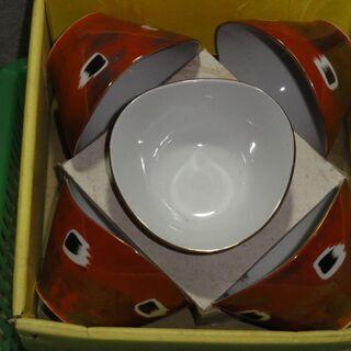 未使用 箱入り 小鉢  5個セット  昭和 レトロ
