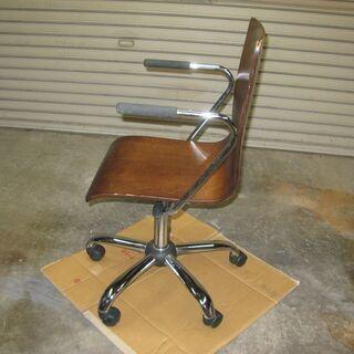 チェア・回転椅子(木製座面)差し上げます。 - 宇治市