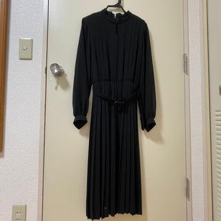フォーマル ミモレ丈ドレス マタニティ
