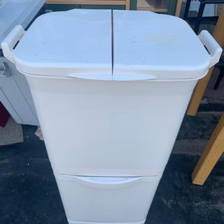 ゴミ箱二段 3種類分け