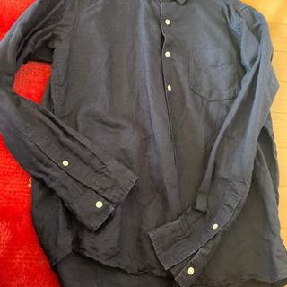 紺色 メンズシャツ
