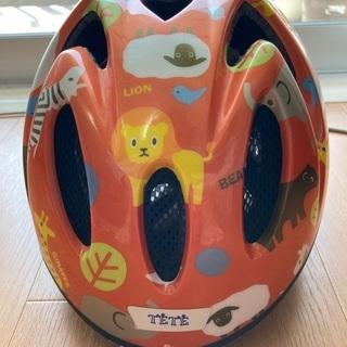 4月18日迄/最終値下げ1000円/子供 自転車用ヘルメット/T...