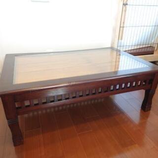 さらに値下げ⤵️ ローテーブル アジアンテイスト バンブー