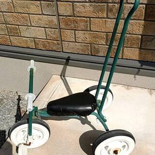 三輪車 (無印良品、手押し棒あり)