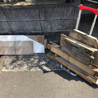DIY用木材 修繕用板 BBQ・焚き火用燃料 一式