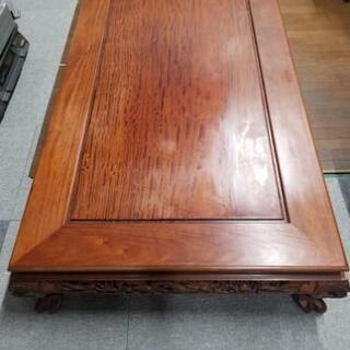木彫り座卓