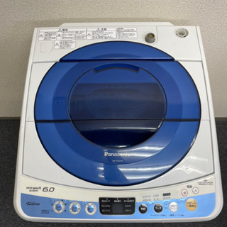 Panasonic 洗濯機 6kg 2014年製 AS03…