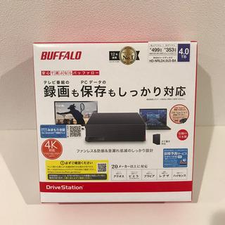 外付けHDD 4TB BUFFALO HD-NRLD4.0U3-...
