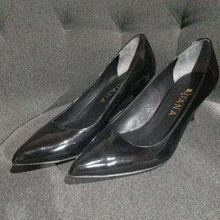 ダイアナ/DIANA 22.5cm黒パンプス