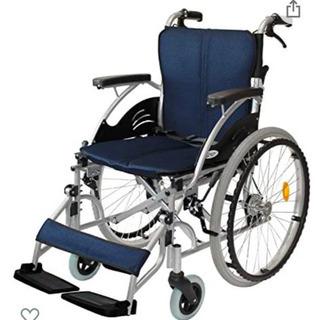 自走式 アルミ製 折りたたみ 車椅子