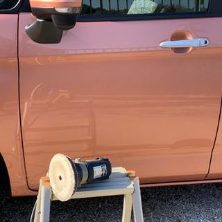 出張で、お車の鉄粉取りからポリッシング、コーティングまで施…