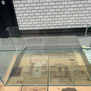 オールガラス水槽 900-450-450