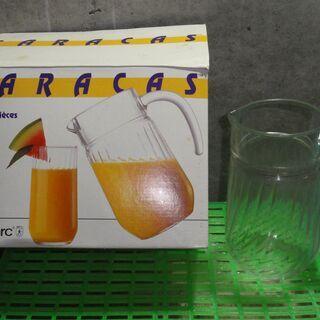 未使用 箱入り(箱汚れ) CARACAS ガラス容器 ガラスピッ...