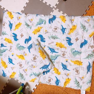 恐竜布団と枕セット