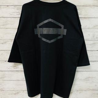 ユニセックス RVCA ルーカ tシャツ 半袖 7分丈 ブラックM L
