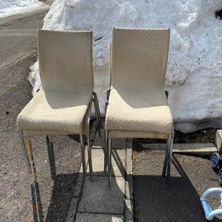 中古レザー椅子4脚