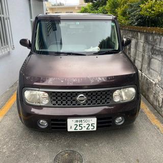 【ネット決済】日産キューブ H18年式 車検R4.3月 不具合あ...