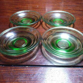 ガラス製皿(中古)