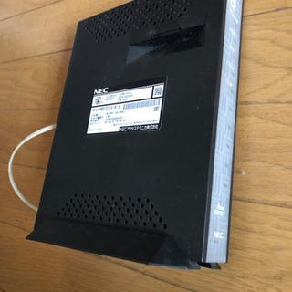 ADSLモデム NEC AtermWD701CV