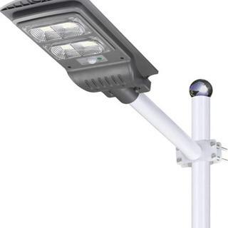 【新品未使用】led 街灯 センサーライト 屋外 ソーラーライト...