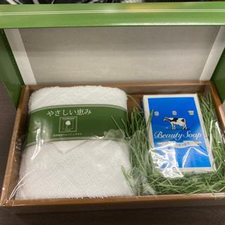 【新品未使用品✨】タオル&牛乳石鹸