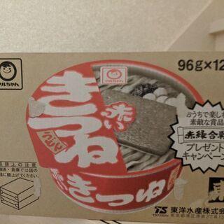 【取引中】赤いきつね 一箱(12食入り)の画像