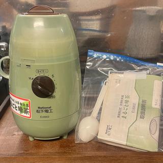 家庭用お茶粉末器