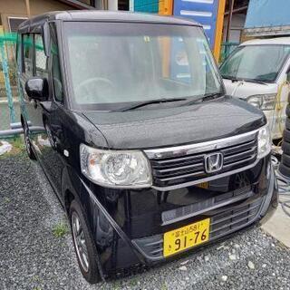 HONDA  ホンダ  N-BOX+  ターボ  車検3年9月まで