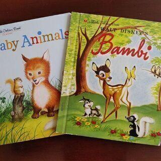英語えほん 「バンビ」&「ベビーアニマル」2冊セット