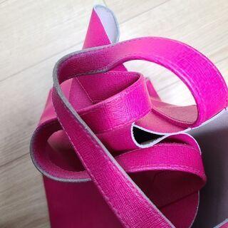 FURLA (フルラ) レザートートバッグ ピンク