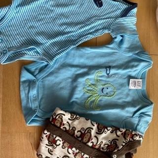 男の子用肌着洋服など3ヶ月から6ヶ月くらいお譲りします - 子供用品