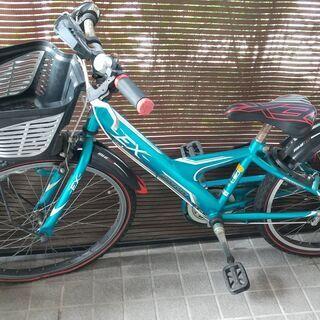 【ネット決済】小学生用自転車 たぶん24インチ