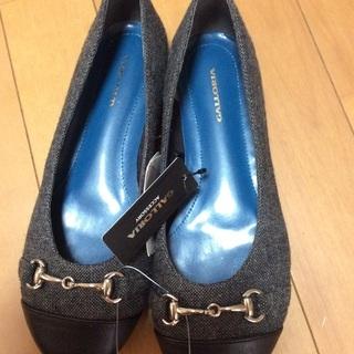 新品  23.5 靴