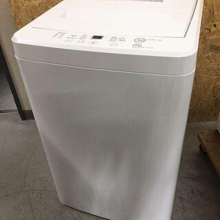 美品!無印良品 全自動洗濯機 AQW-MJ45 2017年製 4...