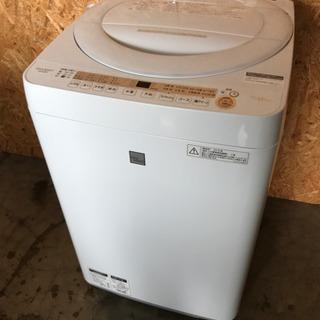 洗濯機 SHARP ES-G7E5 2018年製 動作確認OK