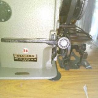 ジューキ上下送りミシン 本縫いバイアステープ巻等