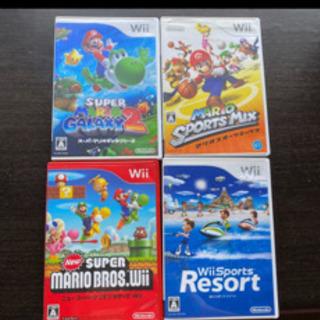 Wiiゲーム4本