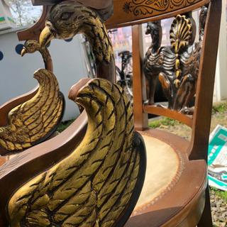 アンティーク 飾り 椅子  - 大垣市